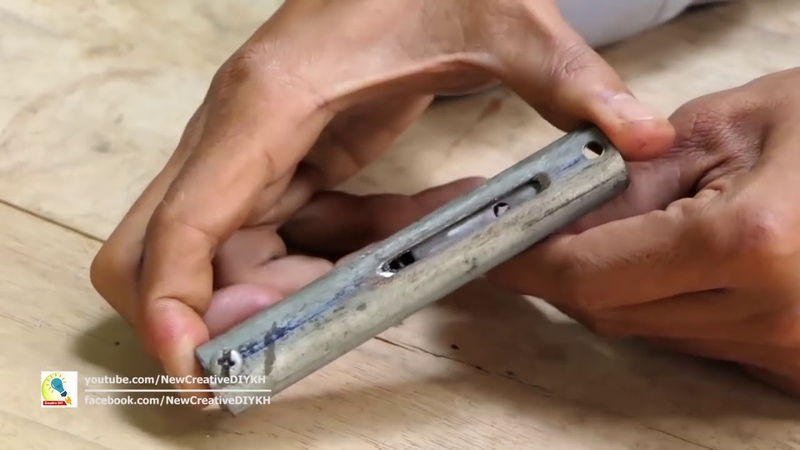 DIY Hammer Assembly of Powerful Homemade Airgun for Single Shoot New Creative DIY