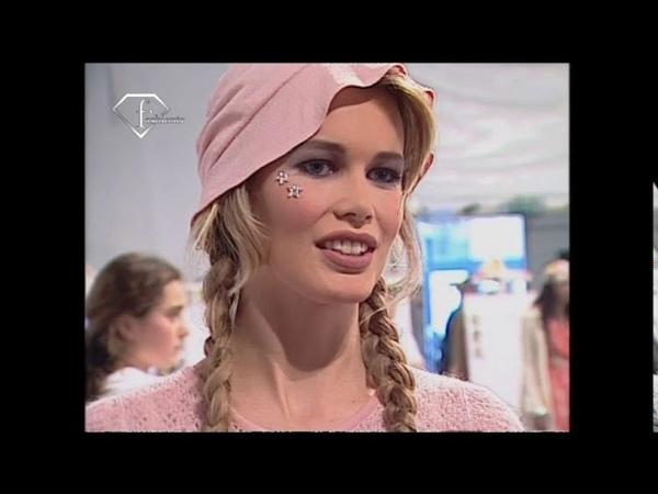 FashionTV | Claudia Schiffer Flashback 1990-1996 - Model Talks | FashionTV - FTV.com