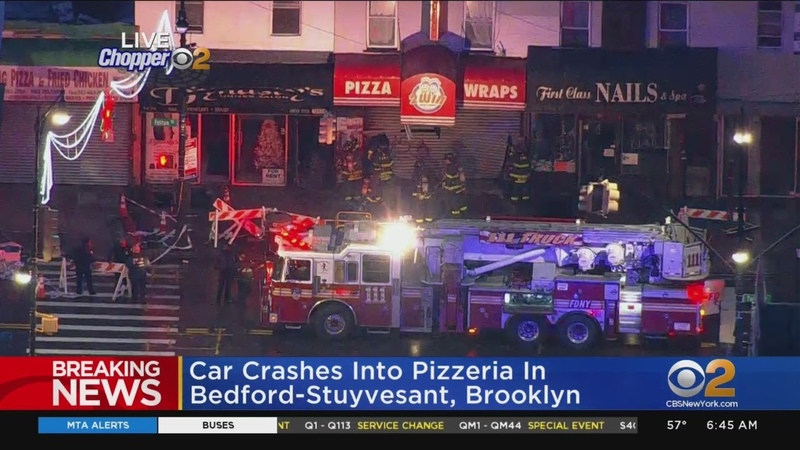 Car Slams Into Brooklyn Pizzeria