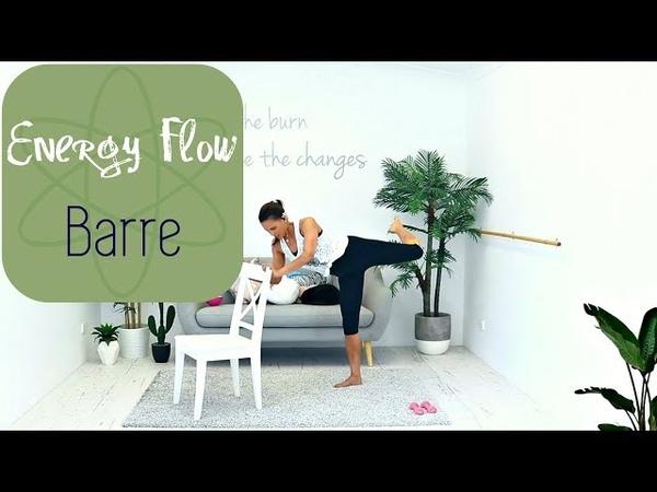 Stretch Barre Fusion Workout BARLATES BODY BLITZ Energy Flow Barre