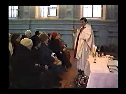Rok 1993 oktawa Bozego Narodzenia Parafia Luga obw Leningradskiego Rosja