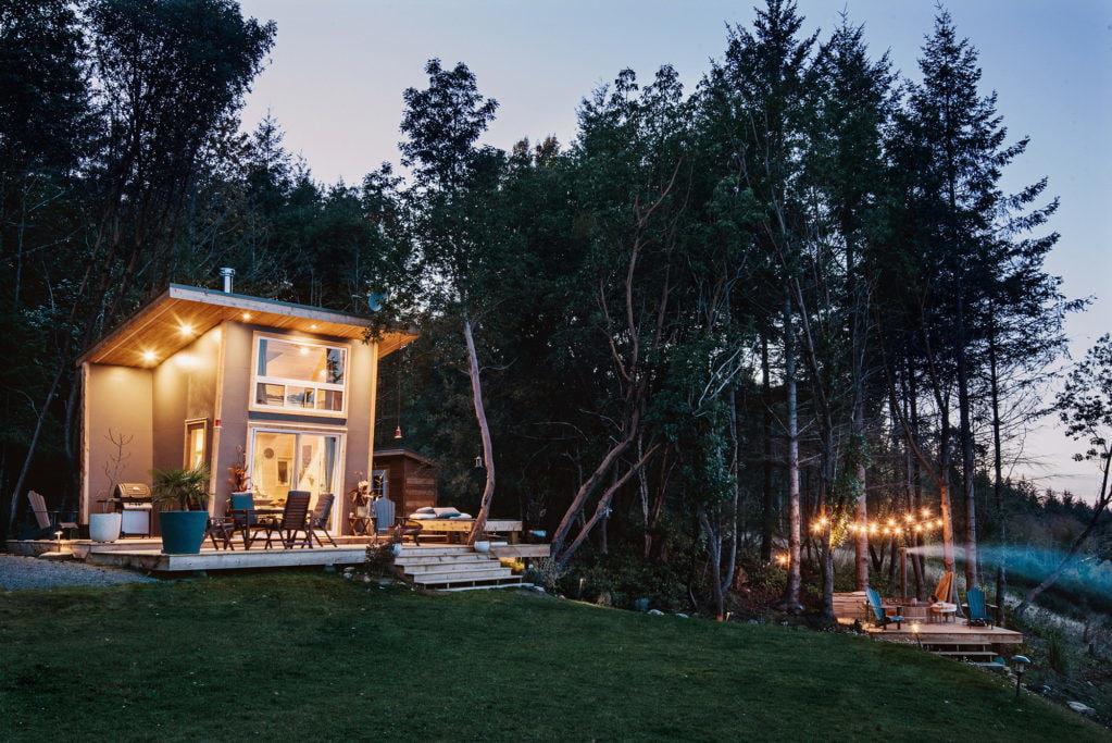 Крошечная студия для молодоженов в Ванкувере (9,2 м²)