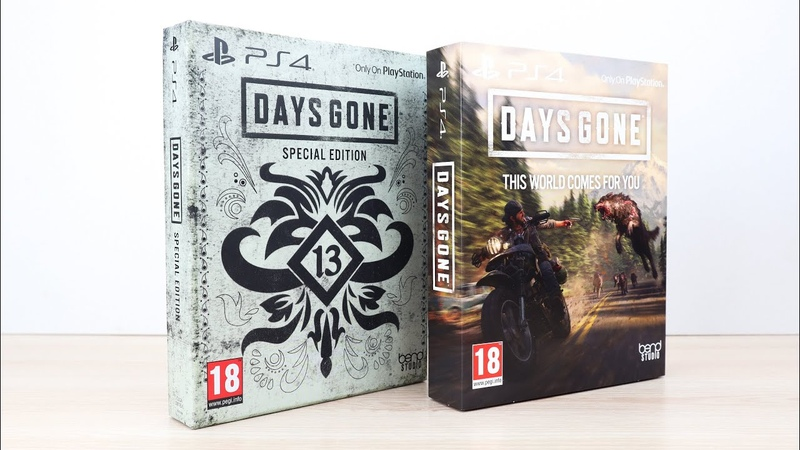 Days Gone Special Edition Days Gone with Limited Edition SteelBook
