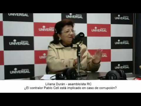 🎙PuntoNoticias – Liliana Durán – Pablo Celi vinculado a supuestos casos de corrupción