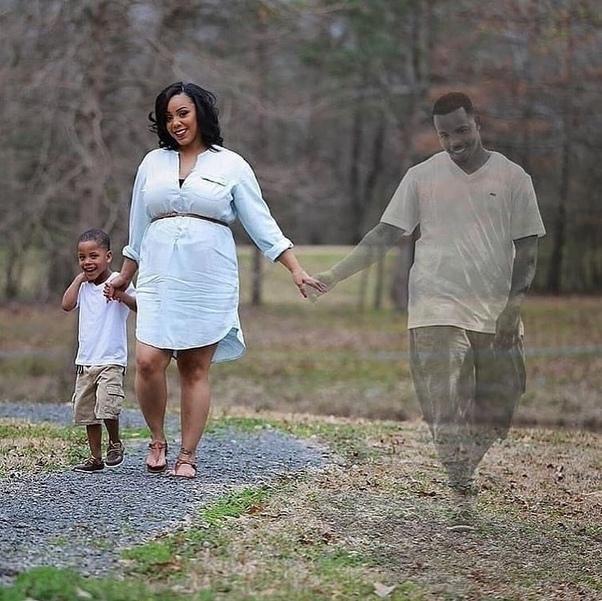 Мужа не стало за 4 месяца до рождения сына. Николь и Деонта Беннет из США ждали второго ребенка. Перед родами Деонта с 4-летним сыном решили устроить маме сюрприз: фотосессия перед рождением