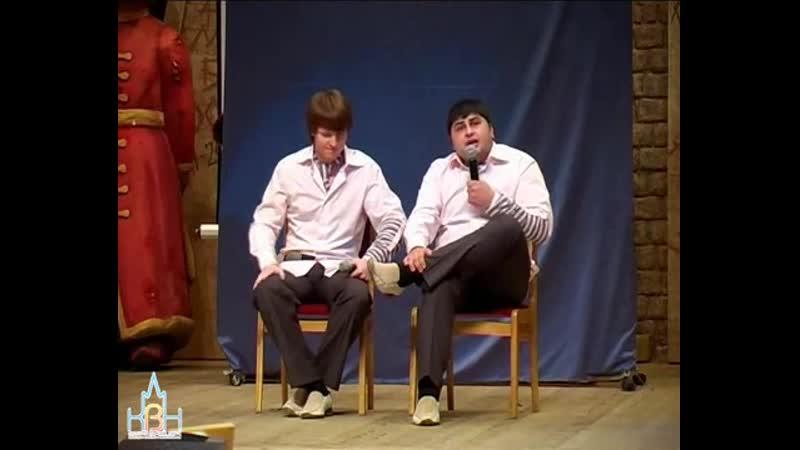 Сборная МИИТа - Музыкальное домашнее задание (КВН Лига Москвы и Подмосковья 2005. Финал)