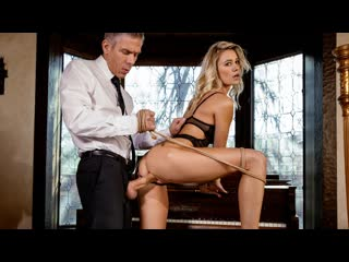 Addie Andrews - Pain (Blonde, Lingerie, Bondage, Blowjob, Standing Doggystyle, Hardcore, Natural TIts)