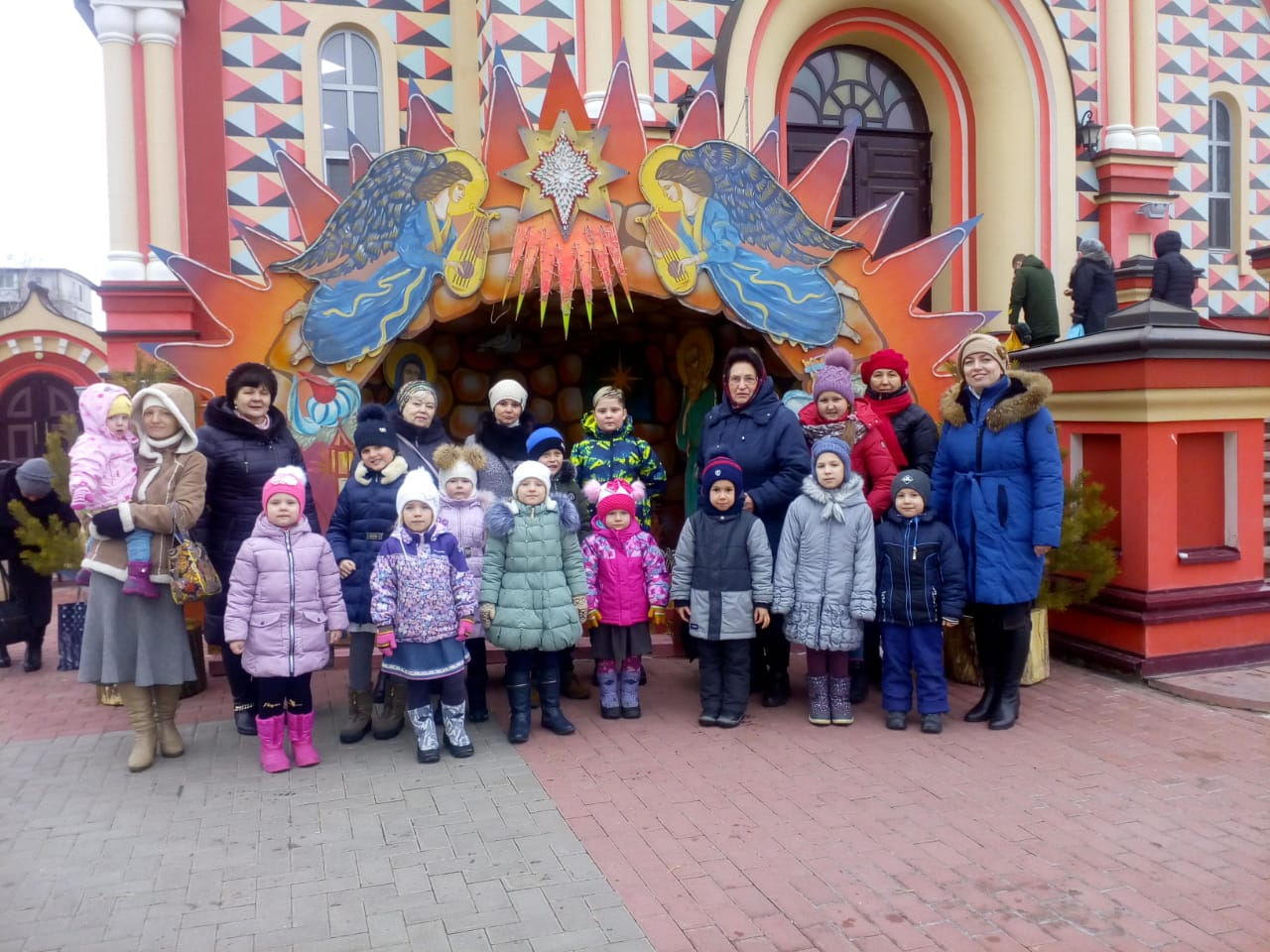 Рождественский праздник в Вознесенском женском монастыре