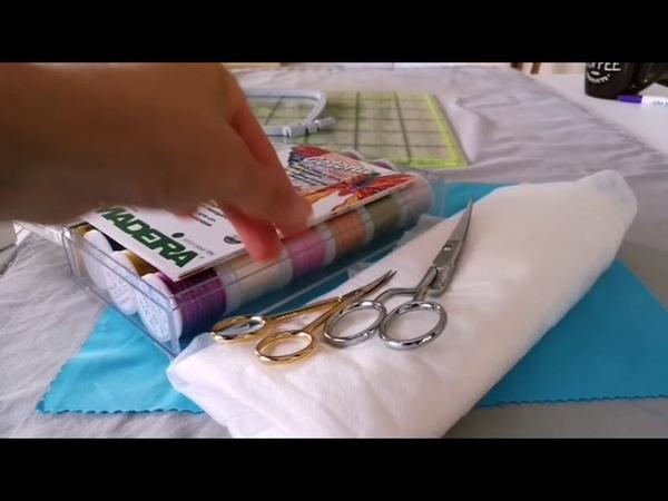 Вышиваем на BERNINA: Файл машинной вышивки в технике Хардангер в BERNINA ES