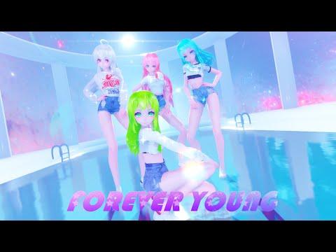 MMD BLACKPINK Forever Young Models DL