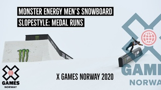 Monster Energy Men's Snowboard Slopestyle: MEDAL RUNS | X Games Norway 2020