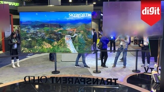 Skyworth Transparent OLED TV First Look - From CES 2020