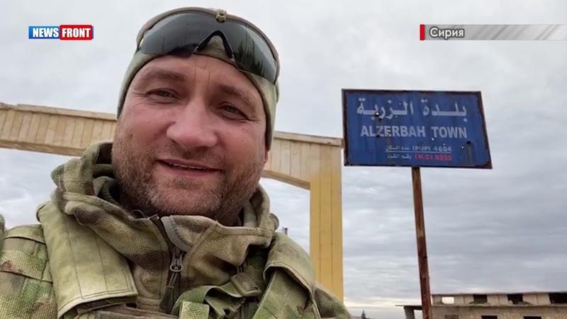 Освобождение сирийской армией трассы Идлиб - Алеппо: репортаж военкора Олега Блохина