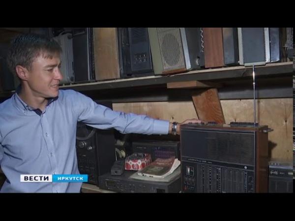 Музыкальные системы прошлого века и другие советские раритеты собирает иркутский коллекционер Сергей