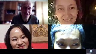 Витя, Алекс, Даша, Надюша и Лора - родные люди. АЛЛАТРА ОБЪЕДИНЯЕТ.