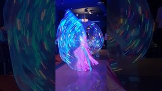 Aziza belly dancer Led show танец живота Краснодар заказать светодиодное шоу