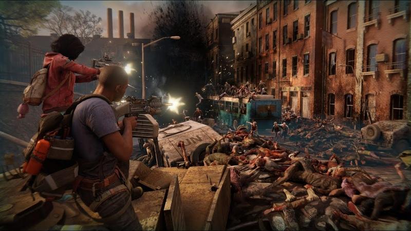 💢 World War Z 💢 ► Эпизод 1 Нью Йорк ► Глава 4 Против Течения 🧟 Full HD 60 FPS