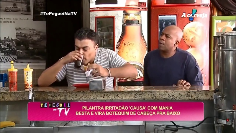Pegadinha inédita do João Kléber Pilantra vira botequim de cabeça pra baixo