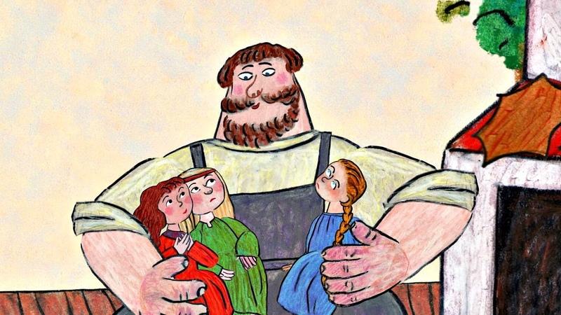 Солдат и смерть и Никита Кожемяка Гора самоцветов мультфильмы для детей