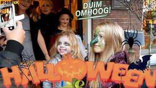 Halloween optocht door DORP straat 2018 | Trick or Treat | Bobbi-Lee #1465