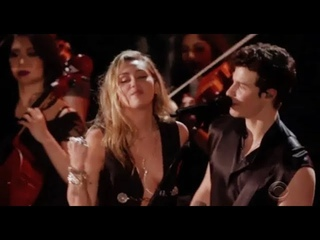 "Shawn Mendes And Miley Cyrus - ""In My Blood"" Live Performance HD At ""The 61st Grammy Award 2019""."