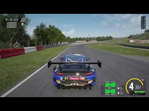 Assetto Corsa Competizone Gamepad settings test