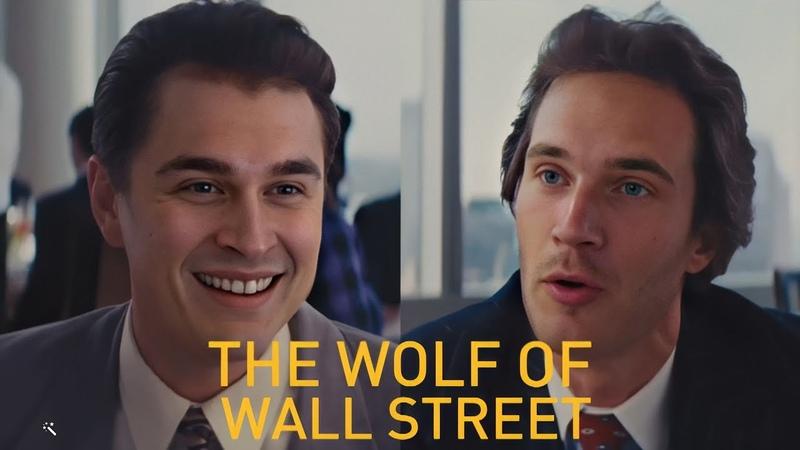 Ludwig Pewdiepie in Wolf Of Wall Street DeepFake