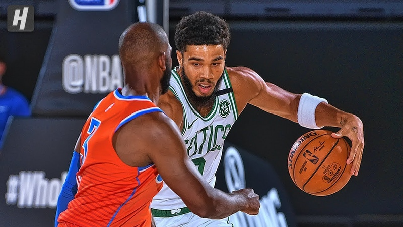Oklahoma City Thunder vs Boston Celtics - Full Game Highlights July 24, 2020 NBA Restart