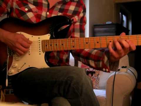 Richie Kotzen Can You Feel it Riff at Slow Tempo Part2