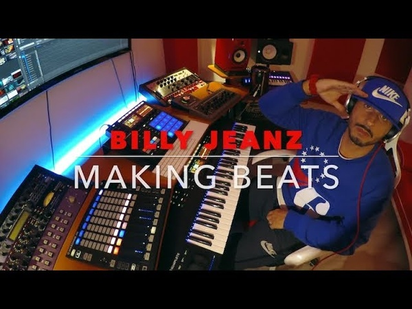 BILLY JEANZ Making an ☆Emotional Trap Beat☆ with Maschine Mk3 and Komplete Kontrol S61 Mk2