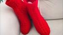 Iki şişle dikişsiz patik modelleri İki Şiş Çorap patik modeli Yapımı