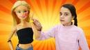 Видео про Куклы. Салон красоты. Барби опаздывает на фотосессию! Игры одевалки для девочек