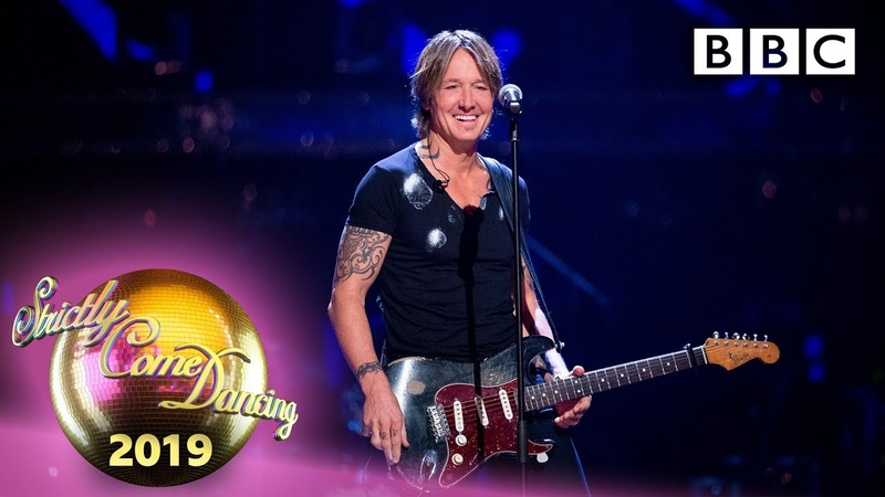 Keith Urban performs Never Comin' Down Week 4 BBC Strictly 2019