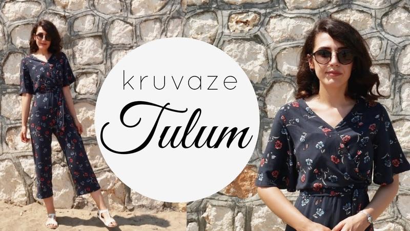KRUVAZE TULUM DİKİMİ DIY Easy Summer Romper Damla Toral