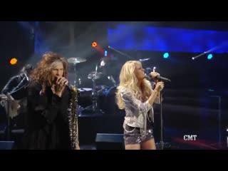 Steven Tyler // Carrie Underwood - Cryin / 2012
