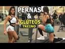 THAISSA MARVILA Atleta Bikini Fitness Exercícios para PERNAS e COXAS SuperTREINO
