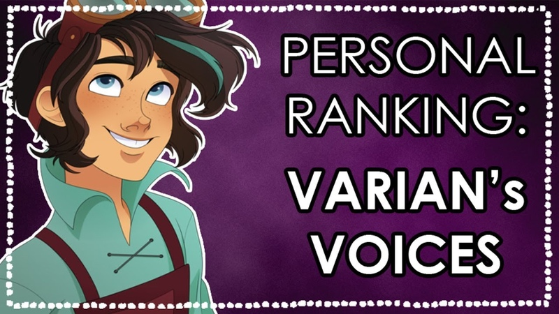 PERSONAL RANKING Varian's Singing Voices