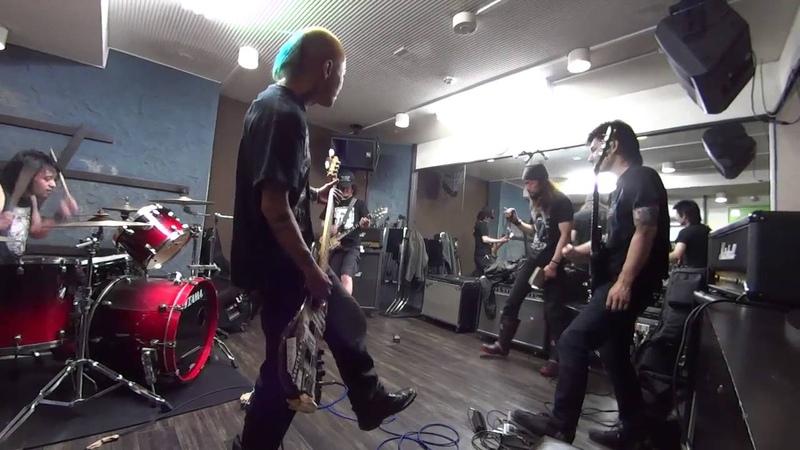 LIFE (Crust Japan) Rehearsed @Rinky Dink Studio Nakano-Ku Tokyo June 2014