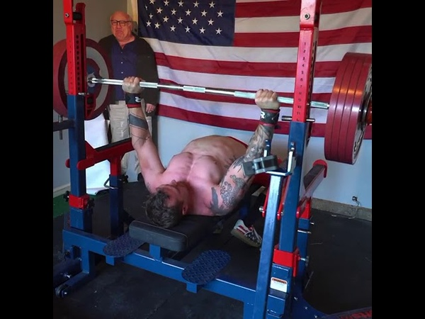 John Haack is a 181lb 82kg bench pressed 501lbs 227 5kg for a 3 rep set