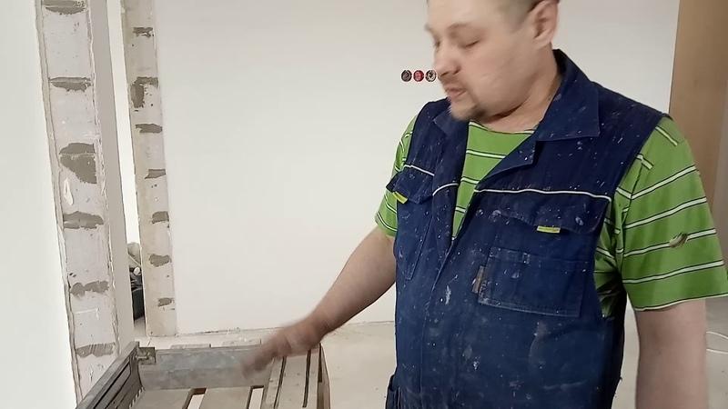 Гребёнка для быстрой качественной укладки плитки на пол