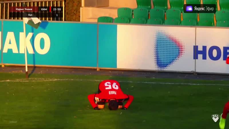 Идрис Умаев забивает в падении через себя второй тур подряд