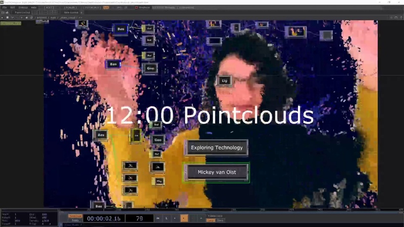 ETL 0409 Point Clouds and Photogrammetry in TouchDesigner with Mickey van Olst