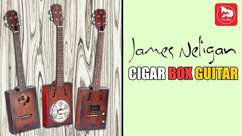 Необычные Сигарбокс гитары J N CASK Cigar Box Guitar