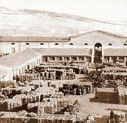 Чайный двор в Кяхте (Бурятия), XIX век