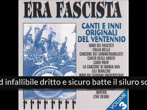 Era fascista - Canzone dei sommergibilisti (Album Version)