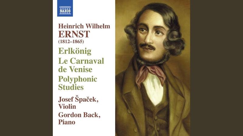 Le roi des aulnes Op 26 after Schubert's Erlkonig
