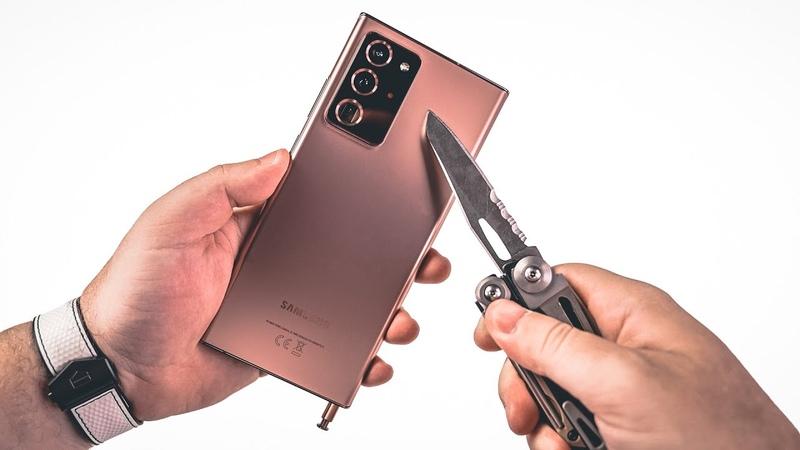Распаковал и поцарапал Samsung Galaxy Note 20 ULTRA за 120 000 руб