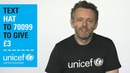 Michael Sheen Help keep Syria's children safe and warm this winter