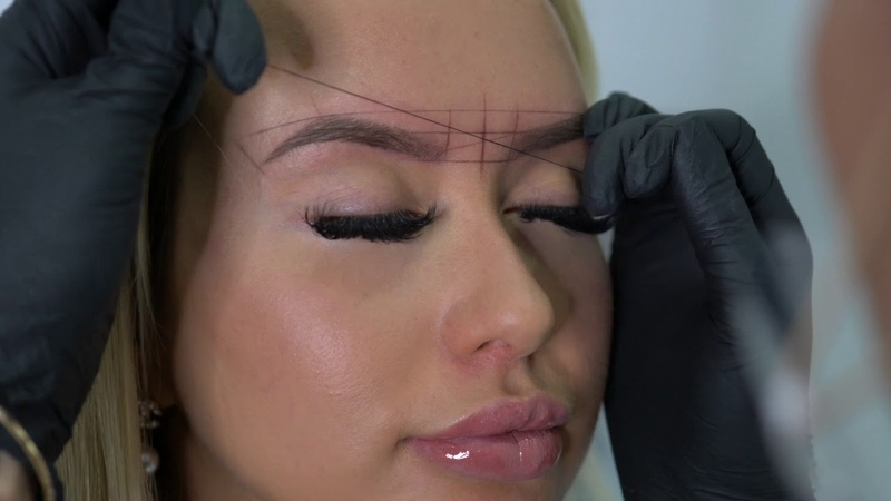 EYEBROW MAPPING TUTORIAL for Microblading or Shading Tattoo