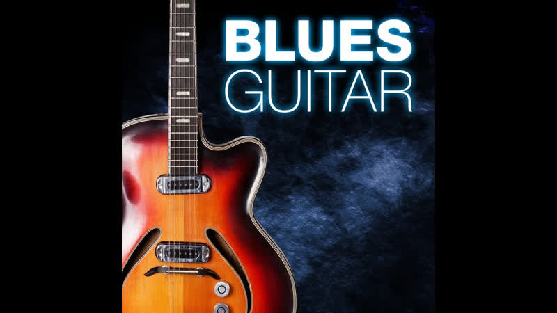 Deep slow minor blues guitar backing track jam in Cm